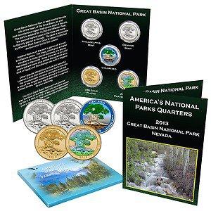 National Park Quarter Set GREAT BASIN
