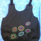 Retro Dots Embroidered Purse