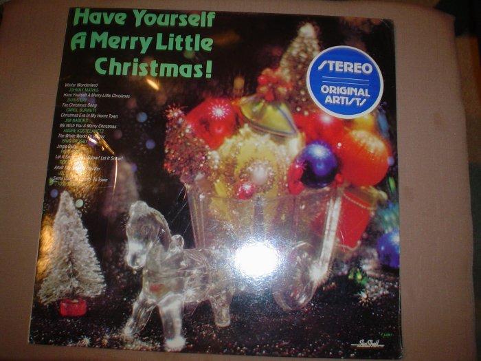 HAVE YOURSELF A MERRY LITTLE CHRISTMAS ALBUM (VINYL LP) - NEW STILL IN SHRINKWRAP!