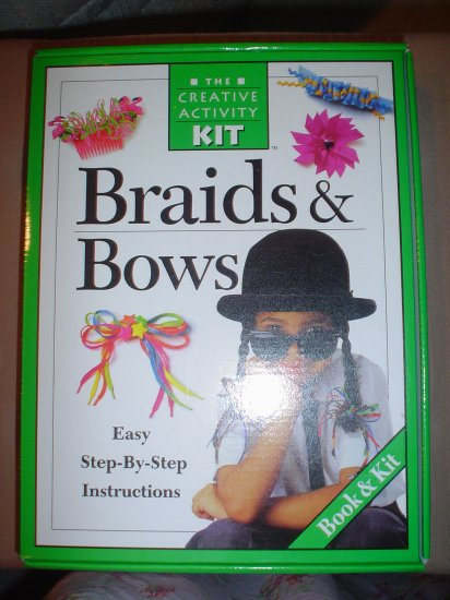 BRAIDS AND BOWS (THE CREATIVE ACTIVITY KIT) - BRAND NEW!