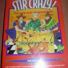 STIR CRAZY! DINNER PARTY GAME by DECIPHER GAMES - MEXICAN VERSION - NEW IN SHRINKWRAP!