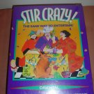 STIR CRAZY! DINNER PARTY GAME by DECIPHER GAMES - ORIENTAL VERSION -  NEW IN SHRINKWRAP!