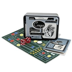FRONT PORCH CLASSICS GAMES TO GO: CASINO SERIES - CRAPS - PERFECT FOR TRAVEL - BRAND NEW!