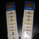 LOONEY TUNES RING TATTOOS - 16 TOTAL - BUGS BUNNY, DAFFY DUCK, TWEETY, SYLVESTER & MORE - NEW!