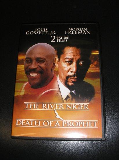 THE RIVER NIGER/MALCOLM X:THE DEATH OF A PROPHET DVD Starring: Morgan Freeman,Yolanda King!