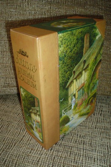 COTTAGE JOURNAL/PHOTO ALBUM BOXED SET by Robert Frederick!