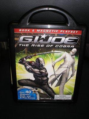 G.I. JOE: RISE OF COBRA MAGNETIC BOARD BOOK & OVER 40 MAGNETS ~ Reader's Digest!
