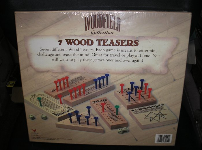 WOODFIELD COLLECTION 7 WOOD TEASERS SET!