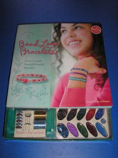 KLUTZ BEAD LOOM BRACELET KIT/BOOK - LEARN & MAKE 7 BRACELETS - BRAND NEW
