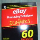 EBAY TIMESAVING TECHNIQUES FOR DUMMIES (Paperback) ~ Marsha Collier - BRAND NEW!