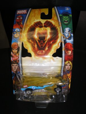 MARVEL HEROES 2006 1:64 Scale HUMAN TORCH DIE CAST CAR MGA Entertainment  by Marvel - BRAND NEW!