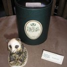 BAMBOOZLED HAND CARVED PANDA FIGURINE/TREASURE BOX by HARMONY KINGDOM of ENGLAND - BRAND NEW!