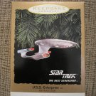STAR TREK THE NEXT GENERATION U.S.S. ENTERPRISE 1993 HALLMARK KEEPSAKE ORNAMENT QLX7412 - NEW!