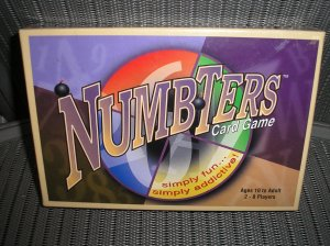 NUMBTERS PARTY FAMILY CARD GAME by BIG TOE GAMES - BRAND NEW!