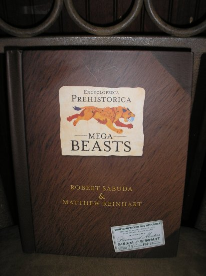 ENCYCLOPEDIA PREHISTORICA MEGA-BEASTS POP-UP BOOK by Robert Sabuda & Matthew Reinhart - NEW!