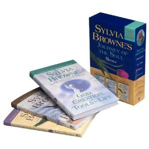 SYLVIA BROWNE'S JOURNEY OF THE SOUL BOX SET OF 3 LAMINATED PAPERBACKS - BRAND NEW!