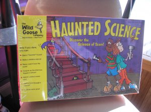 HAUNTED SCIENCE - DISCOVER THE SCIENCE OF SCARE! by WILD GOOSE COMPANY - MADE IN USA - BRAND NEW!