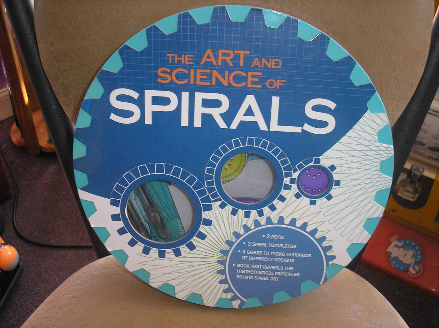 THE ART AND SCIENCE OF SPIRALS by Victor Dorff - STERLING INNOVATIONS - BRAND NEW!