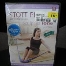 STOTT PILATES: SCULPT & TONE DVD (LEVEL 1) with MOIRA MERRITHEW includes FLEX-BAND - BRAND NEW!