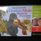 BEYOND THE BOOK GUSTAV MOLE MUSICAL FAMILIES GAME by DISCOVERY TOYS - BRAND NEW IN SHRINKWRAP!