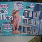 PETITE DREAMS VICTORIAN WOODEN DOLLHOUSE KIT - #20002 - 3.5' HIGH - NEW IN BOX!