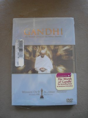 GANDHI, HIS TRIUMPH CHANGED THE WORLD FOREVER DVD - WINNER OF 9 ACADEMY AWARDS - BRAND NEW!