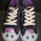 "POLLIWALKS KIDS ""TOYS FOR FEET"" PURPLE SUEDE HI TOP SNEAKER/SHOE - SIZE 8 - BRAND NEW!"