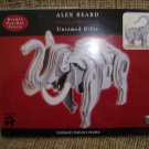 ALEX BEARD ELEPHANT POP-OUT PUZZLE by UNTAMED GIFTS - NEW IN PACKAGING!