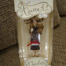 QUEEN OF CHOCOLATE HALLMARK KEEPSAKE ORNAMENT - HANDCRAFTED by SUE TAGUE - NEW IN BOX!