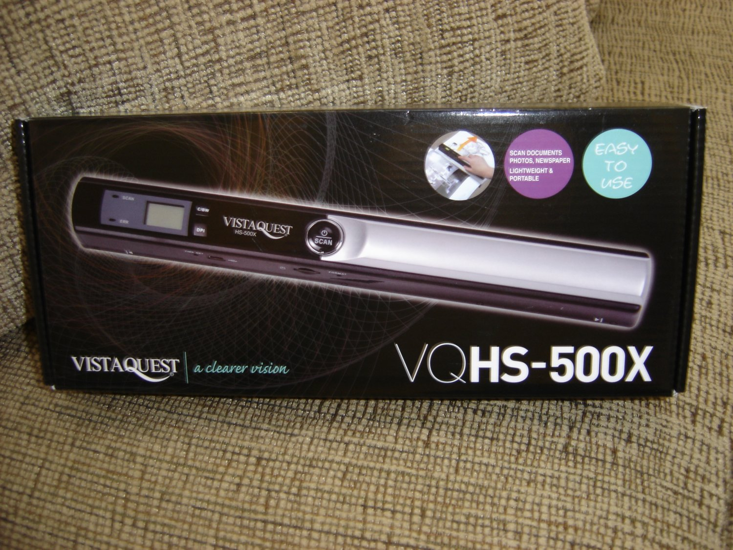 Vistaquest VQ HS 500X - PORTABLE SCAN TO SD CARD - EASY TO USE - NEW!