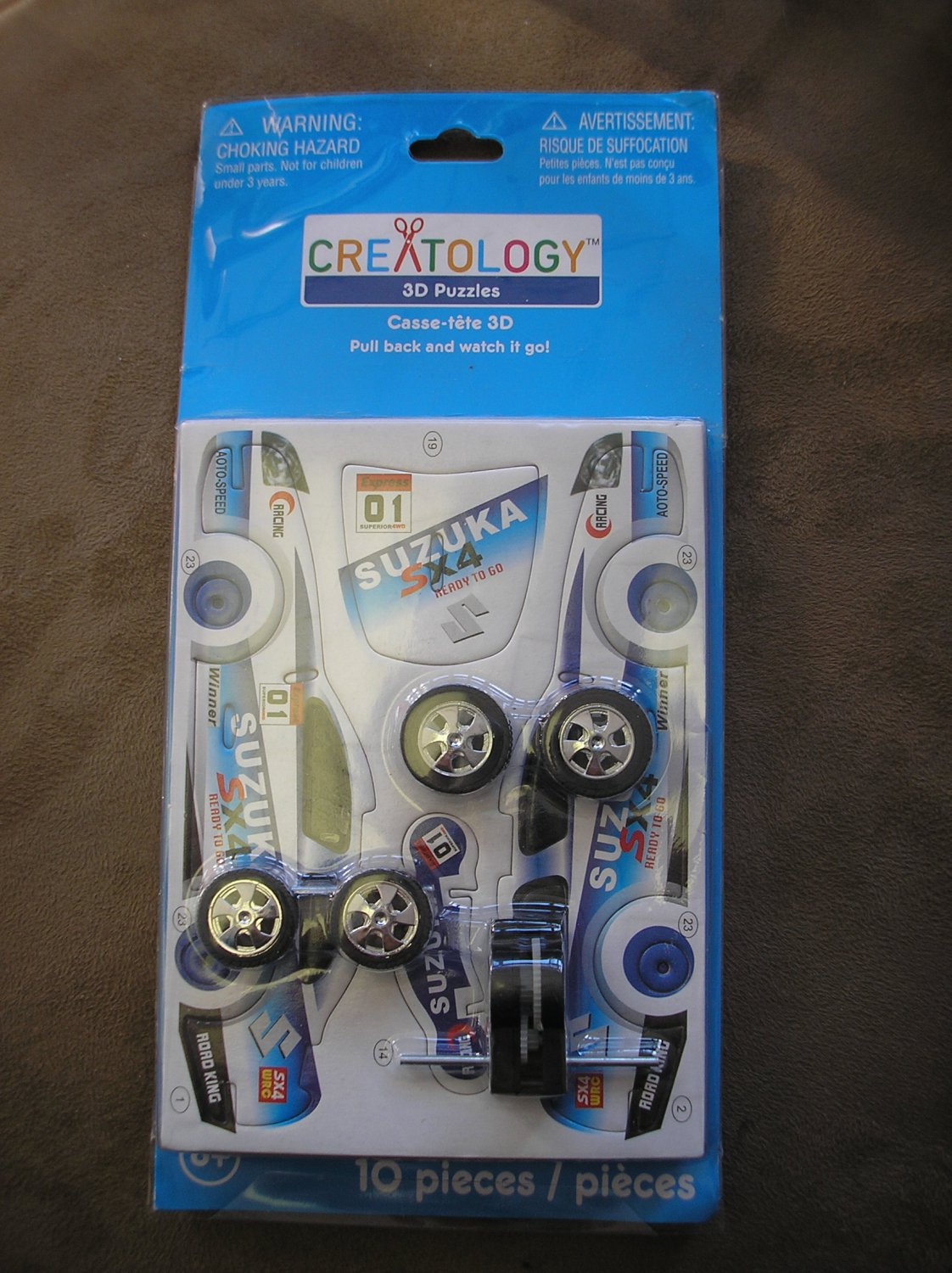 CREATOLOGY 3D SUZUKA FORMULA RACE CAR PUZZLE - NEW IN PACKAGE!