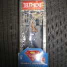 SUPERMAN SMALL TELEPHONE BOOTH GUMBALL CANDY DISPENSER (2005) by CAP CANDY- NEW IN PACKAGE!