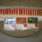INSTANT GIFT WRAP BAG for MUSIC & VIDEO - PERFECT FOR 1 or 2 CD's - LOT OF 21 - NEW!