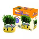 "CHIA CAT GRASS PLANTER KIT - ""SNOOZING KITTY"" - AS SEEN ON TV - A NUTRITIOUS TREAT FOR YOUR CAT!"
