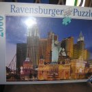 LAS VEGAS NEW YORK HOTEL 2000 PIECE JIGSAW PUZZLE by RAVENSBURGER - FACTORY SHRINKWRAPPED!