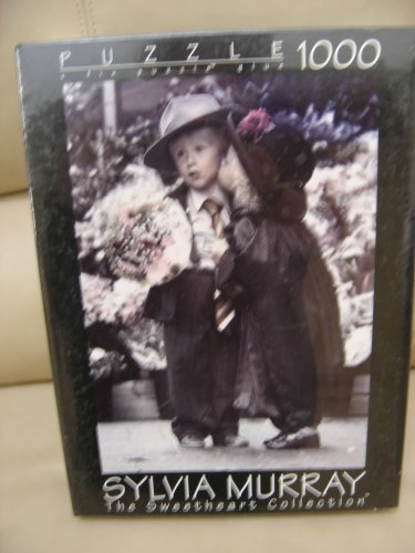 """SYLVIA MURRAY,THE SWEETHEART COLLECTION,""""VALENTINES"""" 1000 PC. PUZZLE by Fink & Company-MADE IN USA!"""