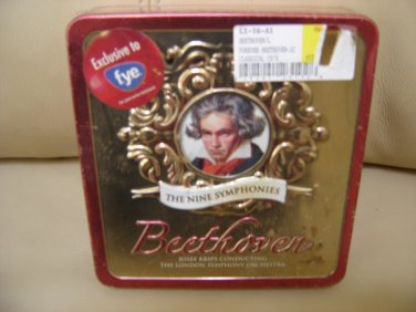 Beethoven:The Nine Symphonies (Collectible Tin) Josef Krips and London Symphony Orchestra-Box set!