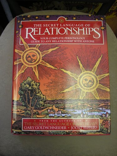 The Secret Language of Relationships Hardcover book by Gary Goldschneider, Joost Elffers!