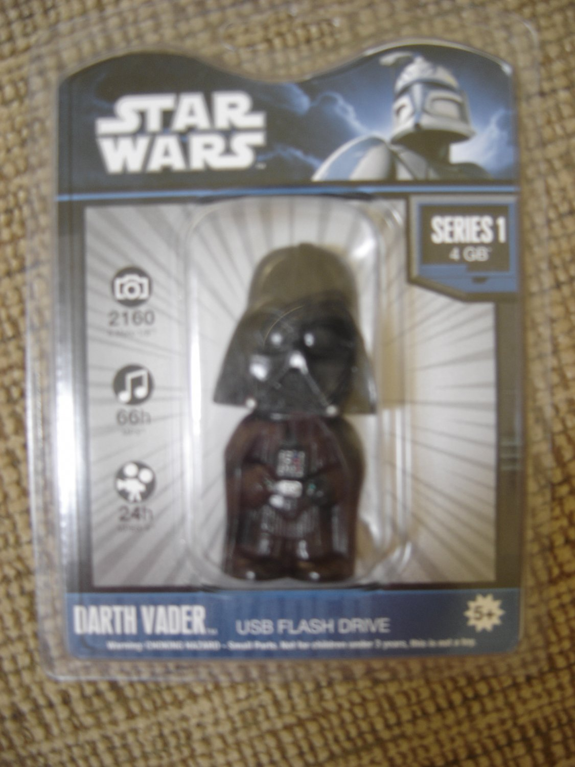 STAR WARS DARTH VADER 4GB USB Flash Drive by Tyme Machines!