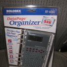ROLODEX DATA PAGE ORGANIZER - FITS LIKE A PAGE INTO PAPER ORGANIZERS!