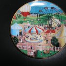 """FRANKLIN MINT AMERICAN FOLK ART COLLECTION """"COUNTRY FAIR"""" LIMITED EDITION PLATE by Steven Klein!"""