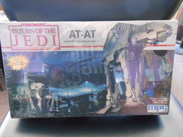 Star Wars At At Mpc Ertl Return Of The Jedi Plastic Model