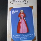 HALLMARK KEEPSAKE BARBIE IN SOPHISTICATED LADY FASHION COLLECTOR'S SERIES ORNAMENT - 2002!