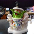 "DEPARTMENT 56 SNOWBABIES ""MERRY CHRISTMAS OSCAR"" 2006 - SESAME STREET COLLECTIBLE FIGURINE!"