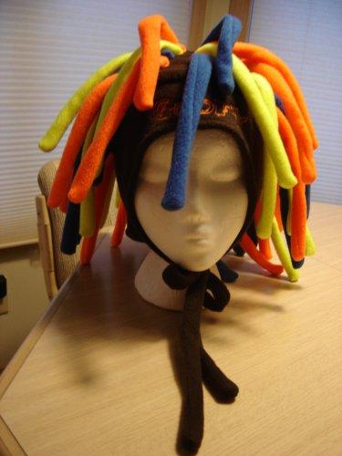 Goofy Dreadlocks Fleece Hat From Walt Disney World Adult Size Rasta Fun Perfect For Crazy Hat Day