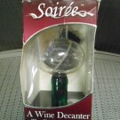 SOIREE BOTTLE-TOP WINE DECANTER & AERATOR with STAND - FITS ANY WINE BOTTLE!