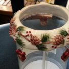 "YANKEE CANDLE ""PINE CONE CANDLE RING for Jar Candles by Yankee Candle!"