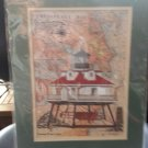 DONNA ELIAS GREAT AMERICAN LIGHTHOUSES - THOMAS POINT LIGHT PRINT!