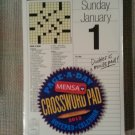 Page-A-Day Mensa Crossword Pad and Notepad 2012 Calendar- GOT 10 MINUTES?