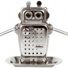 KIKKERLAND ROBOT TEA INFUSER and DRIP TRAY by Kikkerland!